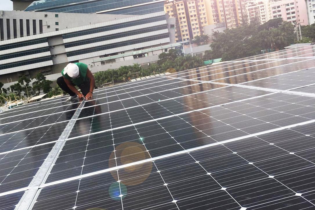 最新型高功率太陽能板